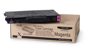 Brand New Original Xerox 106R00681 High Capacity Magenta Phaser 6100 Compatible Laser Toner Cartridge
