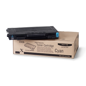 Brand New Original Xerox 106R00680 High Capacity Cyan Phaser 6100 Compatible Laser Toner Cartridge