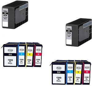 3-Pack Yellow Pigment Ink Cartridge for Canon MAXIFY MB2720 Printer