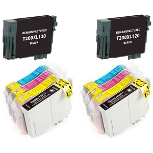 10 Pack Epson T200XL T200XL120 T200XL220 T200XL320 T200XL420 High Yield Inkjet Cartridges