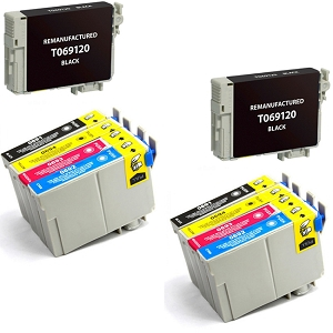 10 Pack Epson T069 Stylus C120, NX510, WorkForce 40, WorkForce 1100 Inkjet Cartridges