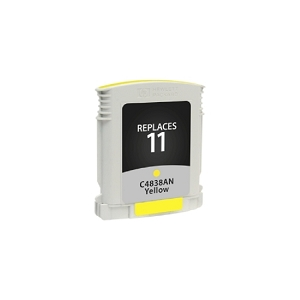 HP11 C4838A Yellow Compatible Inkjet Cartridge