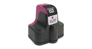 HP 02 C8773WN Magenta Inkjet Cartridge PhotoSmart 3110, 3210, 3310, 8250, C5100, C7200, D7100, D7400