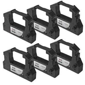 Epson ERC-28B Black POS Ribbon (6 Pack)