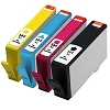HP 564XL 4 Pack High Capacity Black Magenta Yellow Cyan Inkjet Cartridge