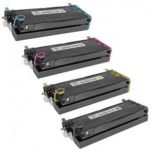4 Pack Xerox  Phaser 6180 Compatible High Yield Toner Cartridges