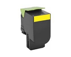 Lexmark 701XK 70C1XY0 Yellow Compatible Extra High Yield Compatible Toner Cartridge CS510