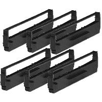 Epson 7753 Black Printer Ribbon (6 Pack)