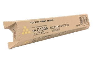Brand New Original Ricoh 821071 821106 Yellow Laser Toner Cartridge Aficio SPC430DN, SPC431DN, SPC440DN