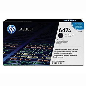Brand New Original HP 647A CE260A Black Laser Toner Cartridge Color LaserJet CP4025, CP4525
