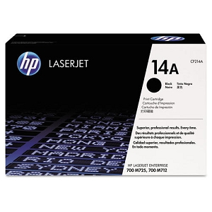 Brand New Original HP 14A CF214A Black Laser Toner Cartridge LaserJet Enterprise 700 M712, M725Z+, MFP M725