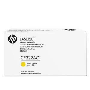 Brand New Original HP 653A CF322AC Yellow Toner Cartridge Color LaserJet Enterprise MFP M680z, M680dn, M680f