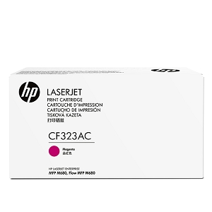 Brand New Original HP 653A CF323AC Magenta Toner Cartridge Color LaserJet Enterprise MFP M680z, M680dn, M680f