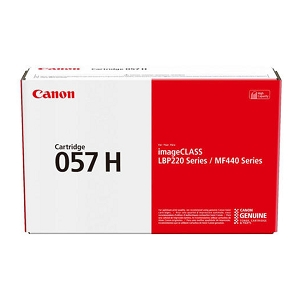 Brand New Original Canon 057H 3010C001 Black Toner Cartridge High Yield,ImageClass LBP227dw, MF448dw, i-SENSYS