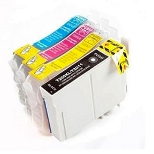 4 Pack Epson T200XL T200XL120 T200XL220 T200XL320 T200XL420 High Yield Inkjet Cartridges