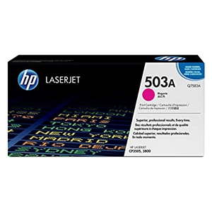 Brand New Original HP 503A Q7581A Magenta Laser Toner Cartridge Color LaserJet 3800, CP3505