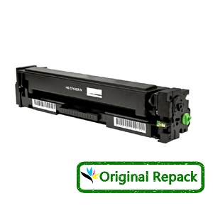 Original Repack HP 201X CF400X Black High Yield Toner Cartridge Color LaserJet Pro M252, MFP M277