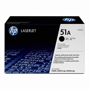 Brand New Original HP 51A Q7551A Black Laser Toner Cartridge M3027, M3035, P3005