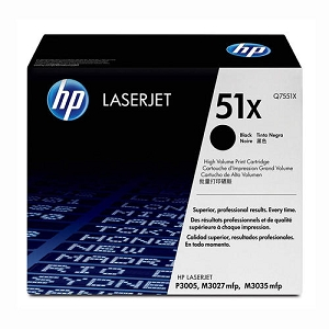 Brand New Original HP 51X Q7551X Black High Yield Laser Toner Cartridge M3027, M3035, P3005
