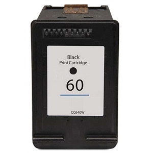 HP 60 CN640WN Black Inkjet Cartridge