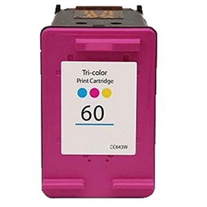 HP 60 CC643WN Tri-Color Inkjet Cartridge