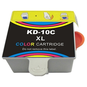 Kodak 10XL 8966 1810829 8946501 Color Compatible High Yield Ink Cartridge