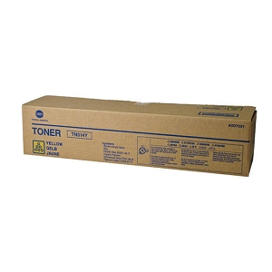 Brand New Original Konica Minolta  A0D7231 TN-314Y TN314Y  Yellow Laser Toner Cartridge Bizhub  C353, 353p