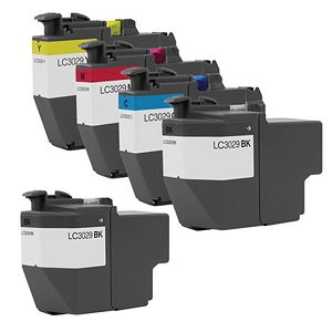 5 Pack Brother LC3029 MFC-J5830, MFC-J5930, MFC-J6535, MFC-J6935 Compatible Extra High Yield Ink Cartridges