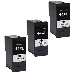 4pk 18Y0144 43xl 44xl HY Black /& Color Printer Ink Cartridge for Lexmark X7675