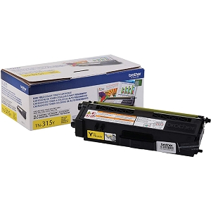 Brand New Original Brother TN-315 TN315Y Yellow Laser Toner Cartridge HL-4150, HL-4570, MFC-9460, MFC-9970 TN310