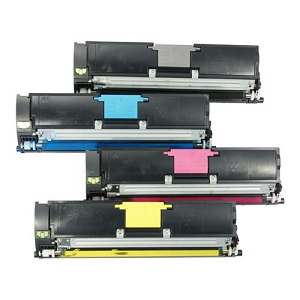 4 Pack Xerox  Phaser 6115MFP, 6120  Compatible High Yield Toner Cartridges