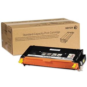 Brand New Original Xerox Phaser 6280 106R01390 Yellow Standard Yield Laser Toner Cartridge