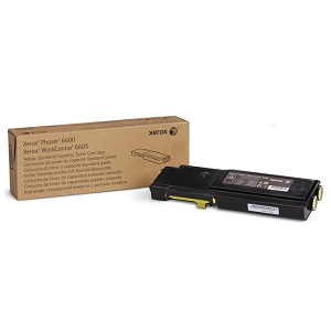 Brand New Original Xerox 106R02243 Yellow Toner Cartridge for Phaser 6600 WorkCentre 6605