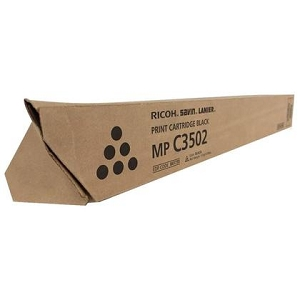 Brand New Original Ricoh 841647 841735 Black Copier Toner Cartridge Aficio MP C3002, C3502