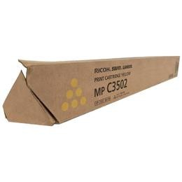 Brand New Original Ricoh 841648 841736 Yellow Copier Toner Cartridge Aficio MP C3002, C3502