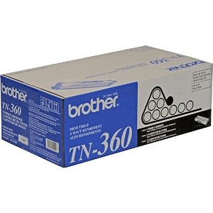 Original Brother TN360 / TN330 High Capacity Black Toner Cartridge