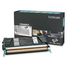 Brand New Original Lexmark C5240KH Black High Yield Return Program Toner Cartridge C524, C534