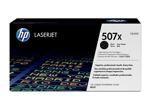 Brand New Original HP 507X CE400X Black Compatible High Yield Toner Cartridge LaserJet Enterprise 500 Color M551, MFP M575, M570dn