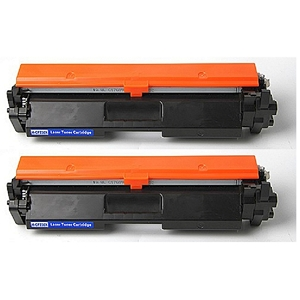 2 Pack HP 30A CF230A Black Compatible Toner Cartridge LaserJet M203 Pro M203 MFP M227