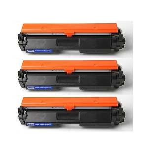 3 Pack HP 30A CF230A Black Compatible Toner Cartridge LaserJet M203 Pro M203 MFP M227