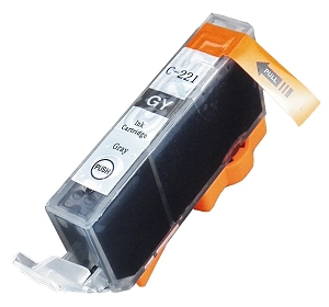 Canon CLI-221GY 2947B001 Gray Inkjet Cartridge PIXMA MP980, PIXMA MP990
