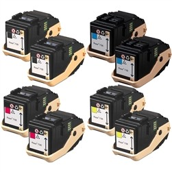 8 Pack Xerox 106R0260 Phaser 7100 Compatible Toner Cartridges