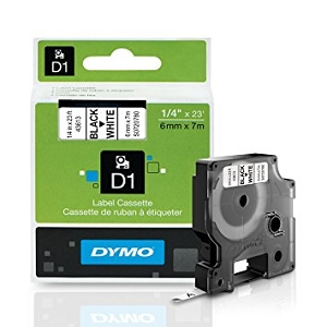 Brand New Original DYMO® 43613 Label Tape Black on White S0720780