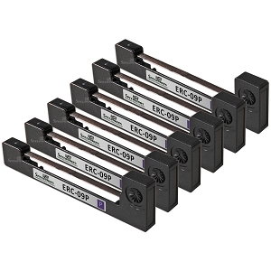 Epson ERC09P ERC-09P Purple POS Ribbon (5 Pack)
