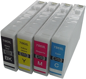 Epson T786XL  Ink Cartridge Combo High Yield T786XL120, T786XL220, T786XL320, T786XL420