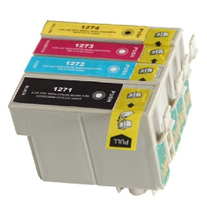 4 Pack Epson T127 T127120 T127220 T127320 T127420 High Yield Inkjet Cartridges