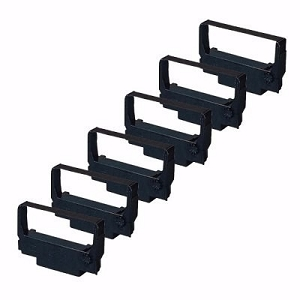 Epson ERC-30 ERC-34  ERC-38  Purple POS Ribbon  ( 6 Pack)