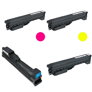 4 Pack HP 822A Color LaserJet 9500 Compatible High Yield Toner Cartridges