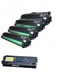 5 Pack HP LaserJet 8500, 8550 Laser Toner Cartridges and Drum Unit