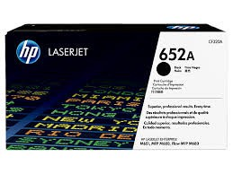 Brand New Original HP 652A CF320A Black Toner Cartridge Color LaserJet Enterprise M651, M680